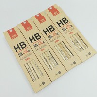 [TrueColor] (12 Box/Lot) School Stationery Black Lead HB Natural Wooden Pencils For Students Office Supplies 221506