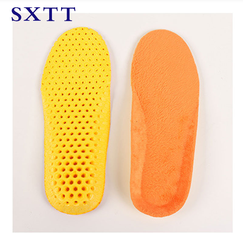 цена на SXTT Winter Wool Warm Heated Insoles EVA Honeycomb sole Thermal Thickened Warm Keeping Shoes Pad For Men And Women 35-45