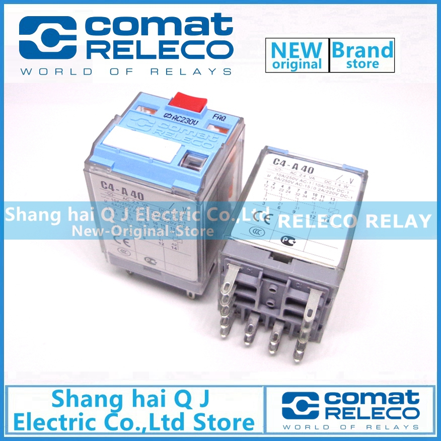 RELECO C40-A40 AC230V 230VAC relay Brand new and originalRELECO C40-A40 AC230V 230VAC relay Brand new and original