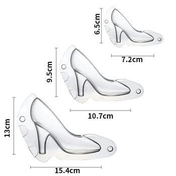 c699bbcb7 Luyou 1 шт. обувь на высоком каблуке Форма для шоколадных конфет комплект  3D инструкции по формовке помадка торт форма FM1733