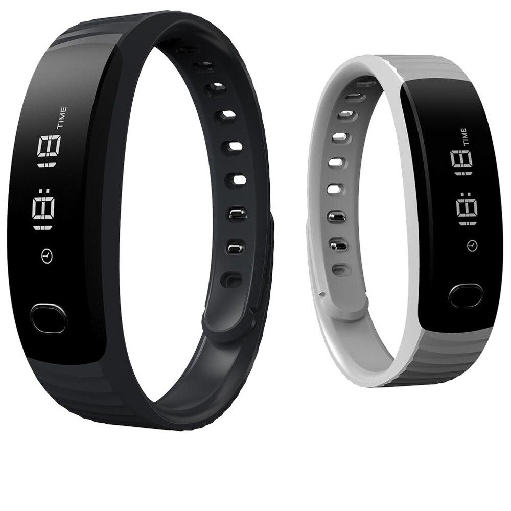 imágenes para Original H8 Banda Inteligente Pulsera Bluetooth Podómetro Gimnasio Rastreador Pulsera Smartband Pulsera Cámara Remoto Para Android IOS