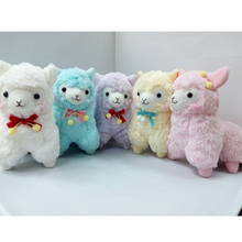 17cm Small Alpaca Plush Toy Soft Stuffed Animal Toys Love Alpaca Doll Kids Children Gifts Alpacasso Dolls Four Colors