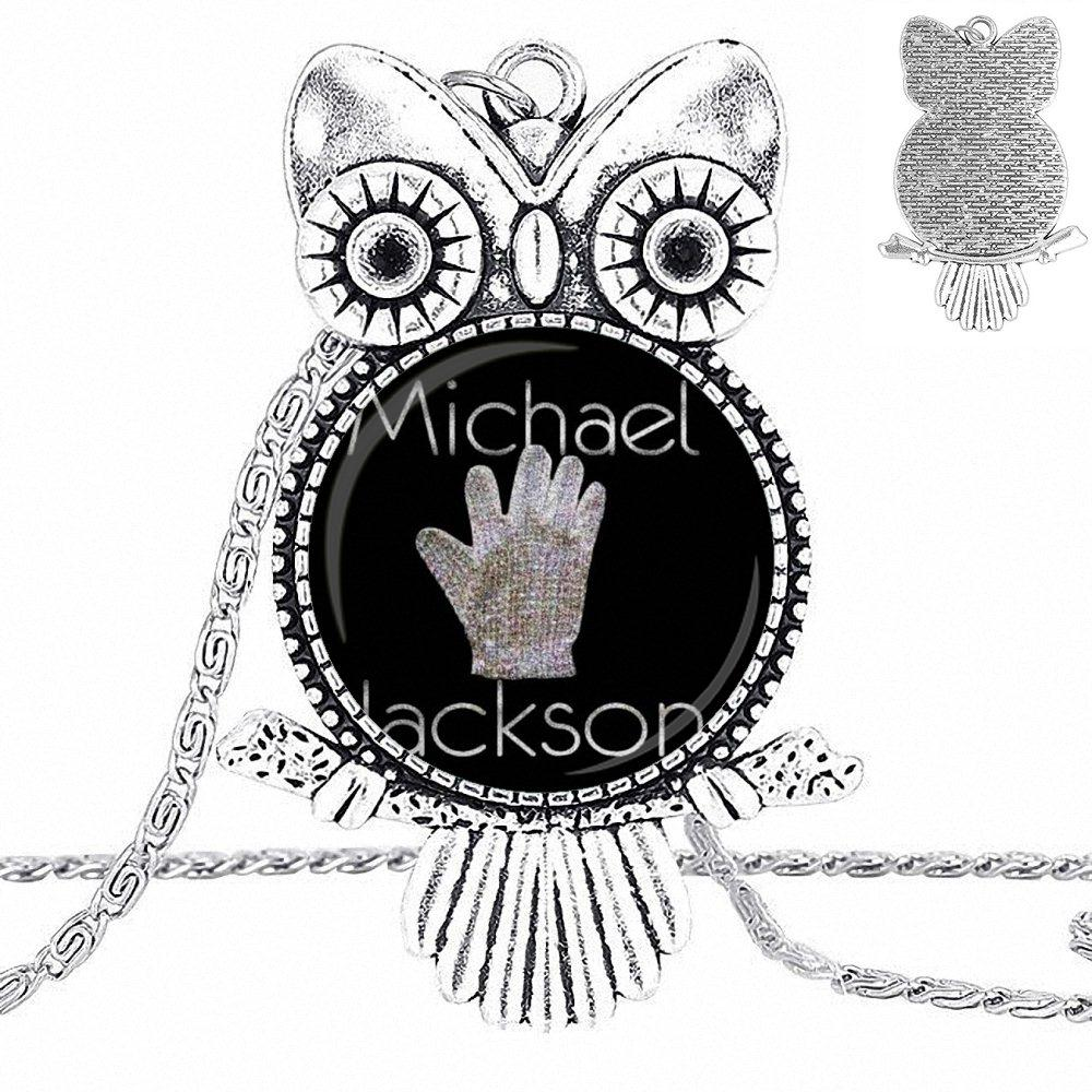 EJ Glaze Michael Necklace Fashion Long Chain With Owl Necklace Jewelry For Girls Gift
