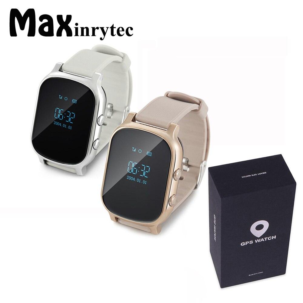 OLED Экран T58 Smart gps WI FI трекер локатор анти потерянный часы для детей старшего ребенка Студент Smartwatch с SOS remote Monitor