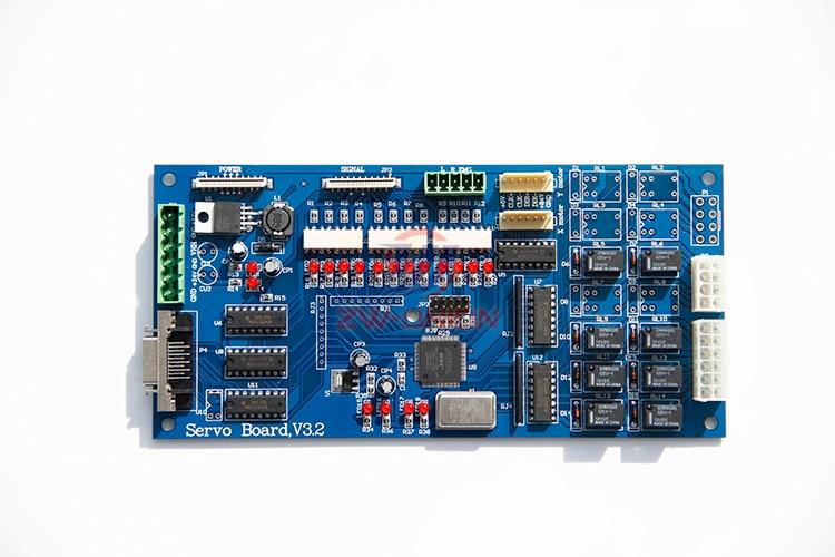 Original Warranty!!! Phaeton UD-3208G Solvent Printer Servo Board V3.2 Servo Motor Board galaxy solvent printer keypad board