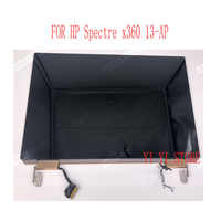 13.3 INCH LCD Touch Digitizer Assembly FOR HP Spectre x360 Laptop 2-in-1 13-ap Full upper parts