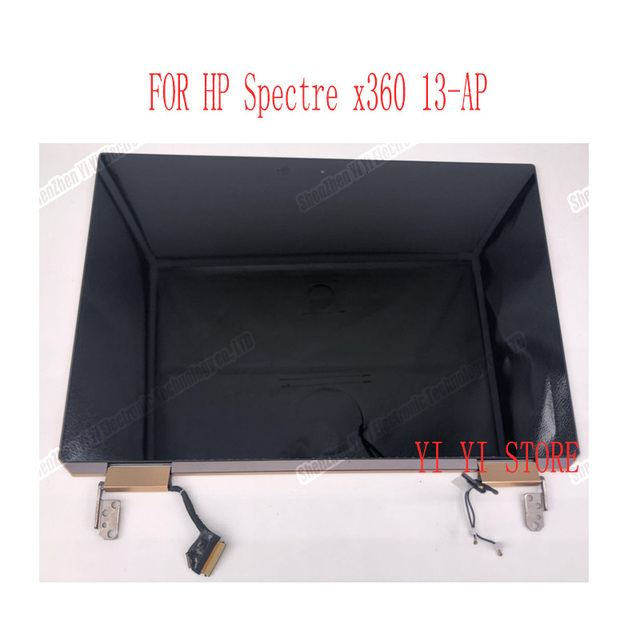 ЖК дисплей 13,3 дюйма с сенсорным дигитайзером в сборе для ноутбука HP Spectre x360 2 в 1 13 ap, полностью верхние части