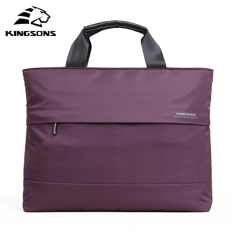 Kingsons 15.4 Inch big size Oxford Computer Laptop Solid Notebook Tablet Bag Bags Case Messenger Shoulder Bag for Women KS3035W