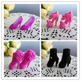 20Pairs/Lot Doll Accessories Doll Sandals Fashion Beautiful 1/6 Doll Shoes