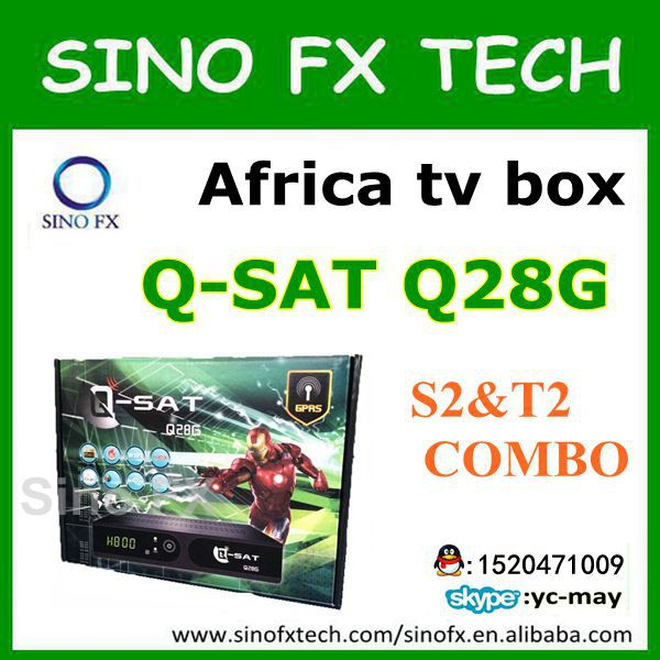 US $105 0  2016 DHL free Qsat Q28G TV receiver q sat Q28G for africa-in  Satellite TV Receiver from Consumer Electronics on Aliexpress com   Alibaba