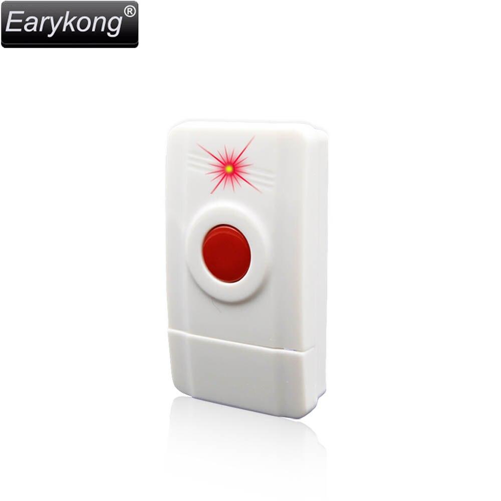 Hot Selling Panic SOS Button, 433MHz One Key Alarm Wireless Alarm For Home Burglar Alarm System, forecum 433mhz wireless magnetic door window sensor alarm detector for rolling door and roller shutter home burglar alarm system