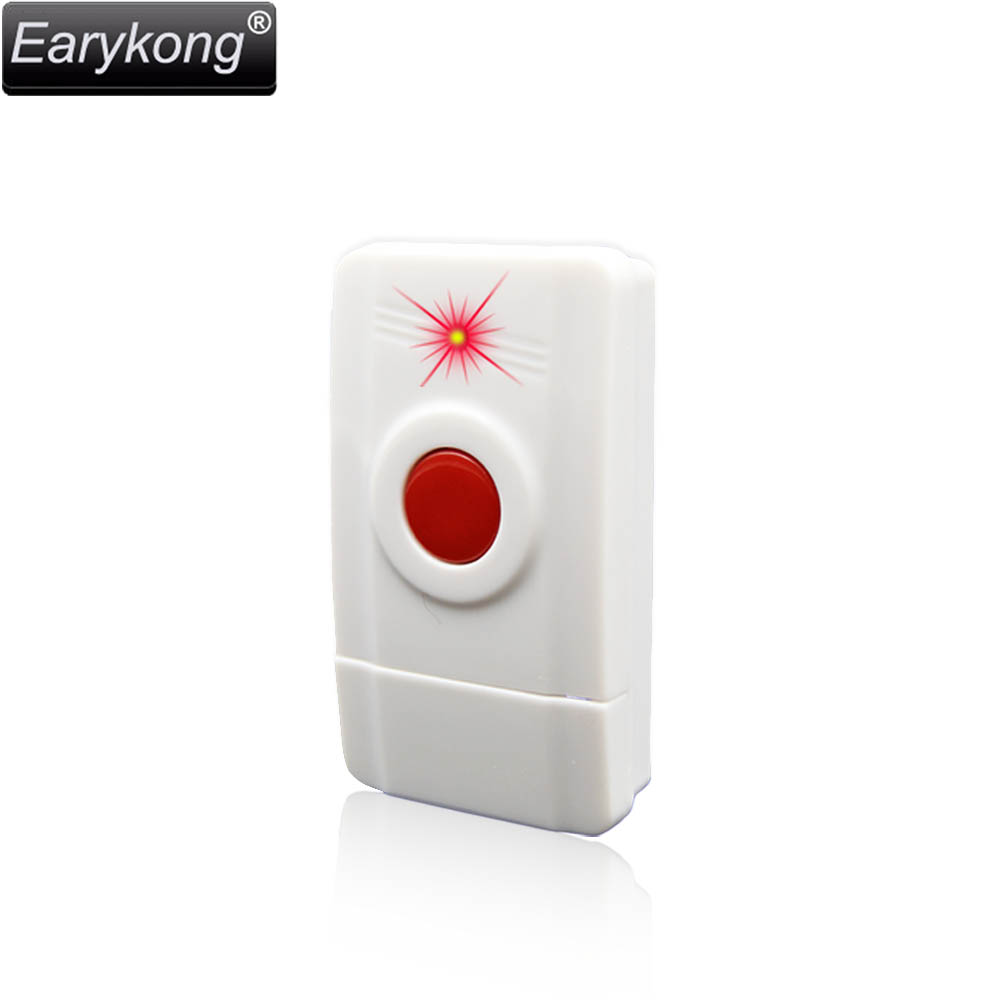 Hot Selling Panic SOS Button 433MHz One Key font b Alarm b font Wireless font b