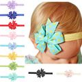 Girl Baby Cloth Flower Bowknot Headband Hair Band Infant Hair Accessories Girls Boutique Bow Headband 10pcs HYS54