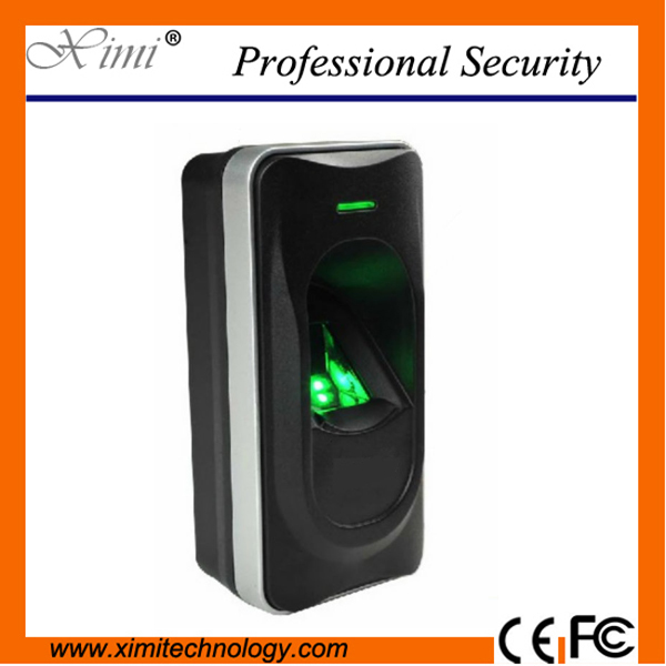 Rs485 Interface Works With Biometric Controllers Fingerprint Standalone Access Control ZK Inbio Series Fr1200 Fingerprint Reader biometric fingerprint access controller tcp ip fingerprint door access control reader