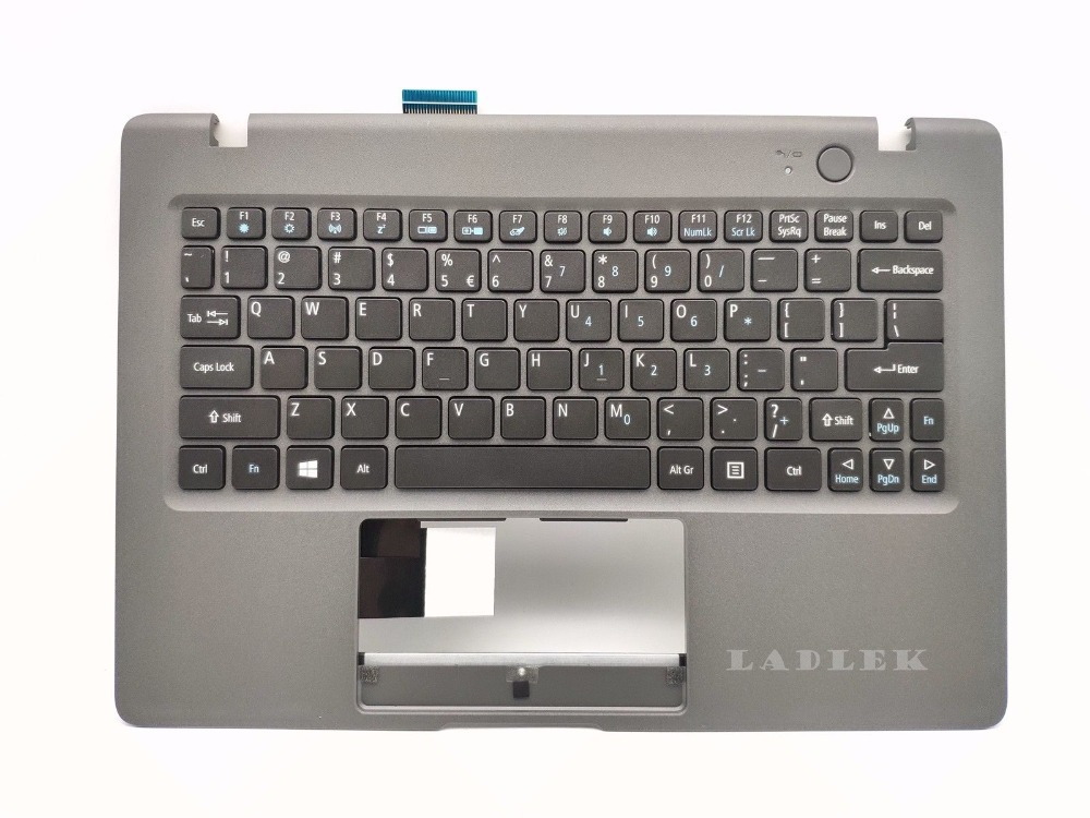 New US Palmrest keyboard for Acer Aspire One Cloudbook AO1-131//1-131//1-131M