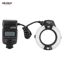 Viltrox JY-670C E-TTL Auto Exposure Macro Ring Speedlite Flash Close-up Fill-in LED Light for Canon EOS 5D2 7D 50D 60D 550D 600D(China)