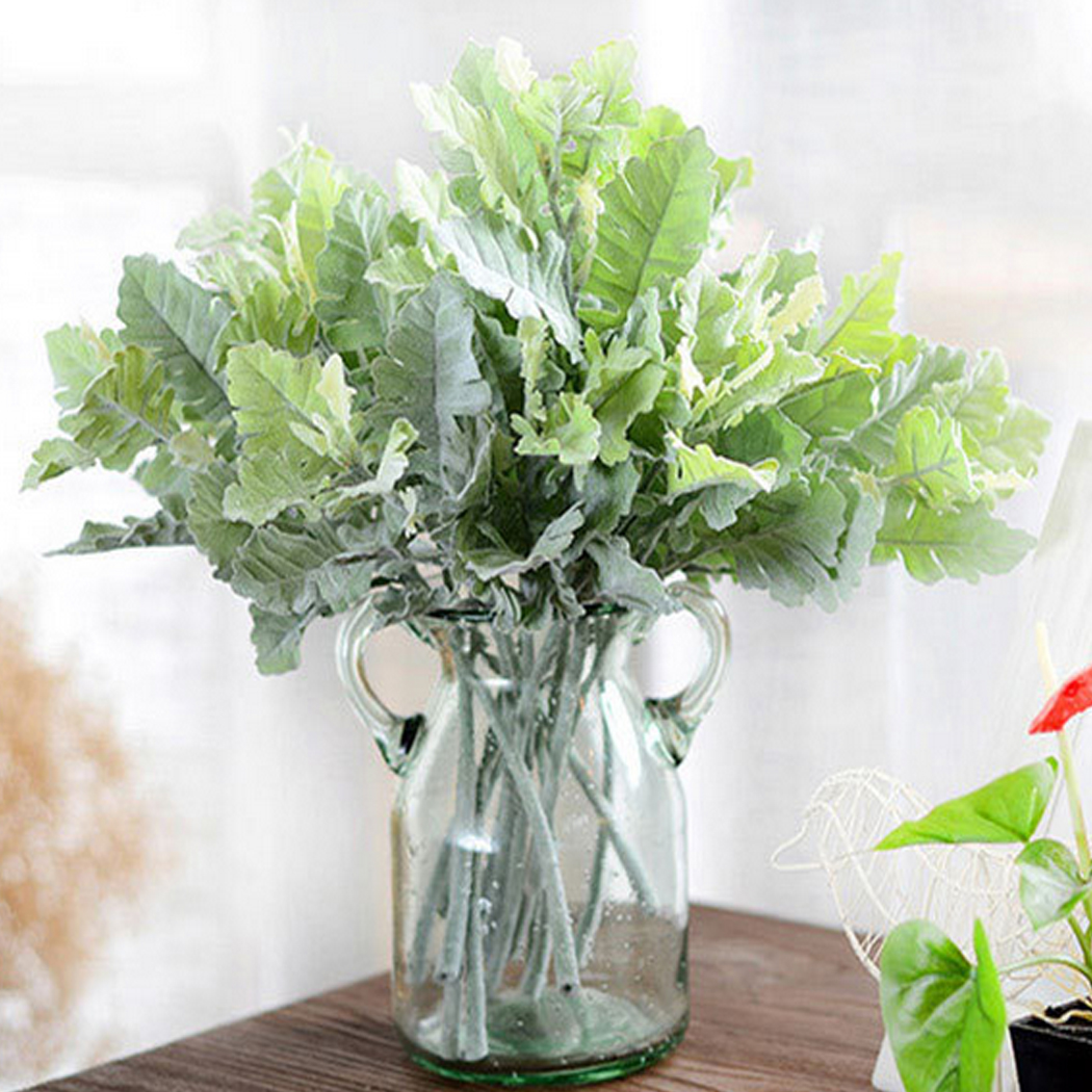 Simulation plant wedding decoration artificial for Real plants for home decor