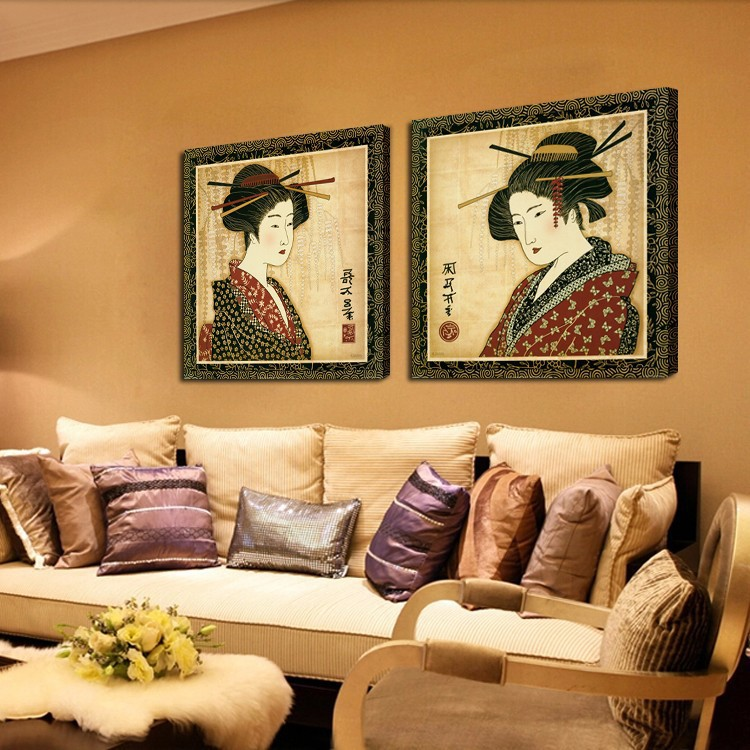 Unique Kimono Wall Decor Ornament - Wall Painting Ideas - arigatonen ...