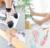 7 Pares/lote Novo Rendas Estilo Diferente de Cristal Transparente Mulheres Meias Confortáveis Meias Estilo De Seda Pura Verão