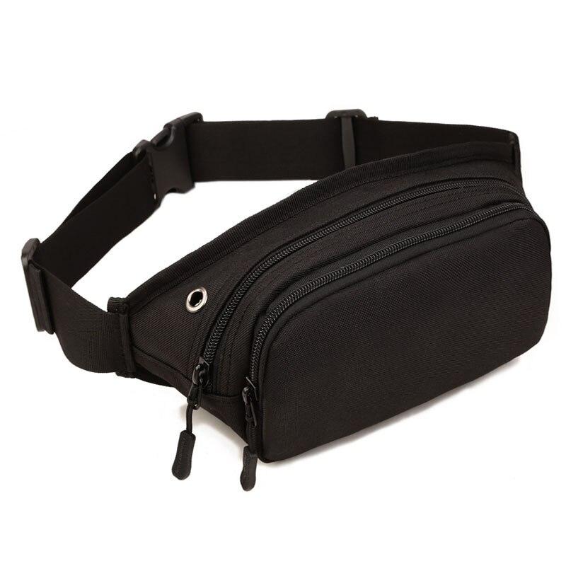 2018 άνδρες αδιάβροχο 1000D νάυλον σφεντόνα στήθος Fanny πακέτο τσάντα μέσης ισχίο ζώνη ιμάντα σταυρό σώμα Messenger θήκη ώμου πορτοφόλι ταξιδιού