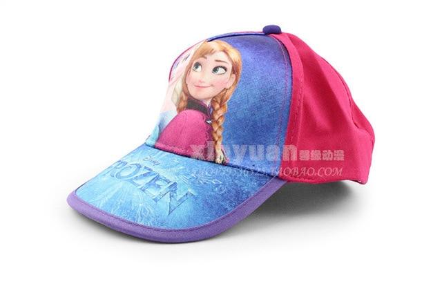 2014 Frozen sun helmet Elsa Princess Girl Cap Adjustable Sun Hat for Kids  Girls Baseball Caps- Kids  world ee01be730e3b