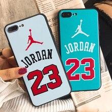 JSPYL Phone Cases XS MAX Flyman Jordan 3D Relief For iPhone 6 6S 7 8 Plus 7f9fba59eea
