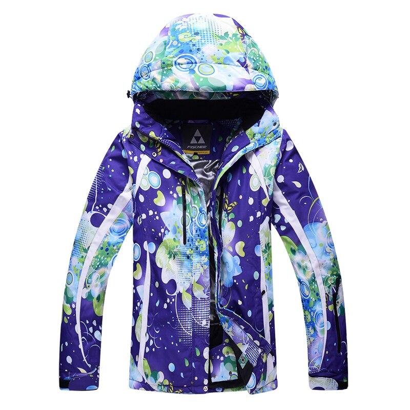 где купить -30 Cheap snow jackets women Ski Coat Outdoor sports Costumes Waterproof Warm Snowboarding jacket female snow suit free shipping по лучшей цене