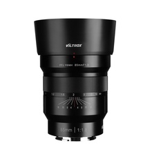 VILTROX 85mm f/1.8 Full-Frame Manual Fixed focus lens F1.8 Lens for Camera Sony NEX E A9 A7III A7R Fujifilm FX-mount