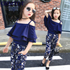 Girls Set Clothes Kids Fashion Top Pant Two Piece Children Summer Suit Girls Boutique Outfits 7