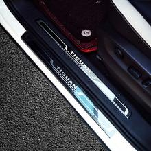 Для Volkswagen Tiguan 2018 аксессуары приемная педаль tiguan порога tiguan MK2 tiguan хром 2017-2018
