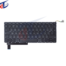"laptop keyboard for macbook pro 15.4"" A1286 UK layout keyboard clavier without backlight backlit 2009 2010 2011 2012year"