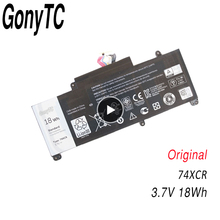 Gonytc 18Wh 3,7 V 74XCR 074XCR Original Laptop Batterie Für Dell Venue 8 Pro 5830 T01D VXGP6 X1M2Y Tablet Serie echte Batterie