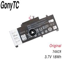 Gonytc 18Wh 3.7V 74XCR 074XCR batterie dordinateur portable dorigine pour Dell Venue 8 Pro 5830 T01D VXGP6 X1M2Y tablette série batterie dorigine