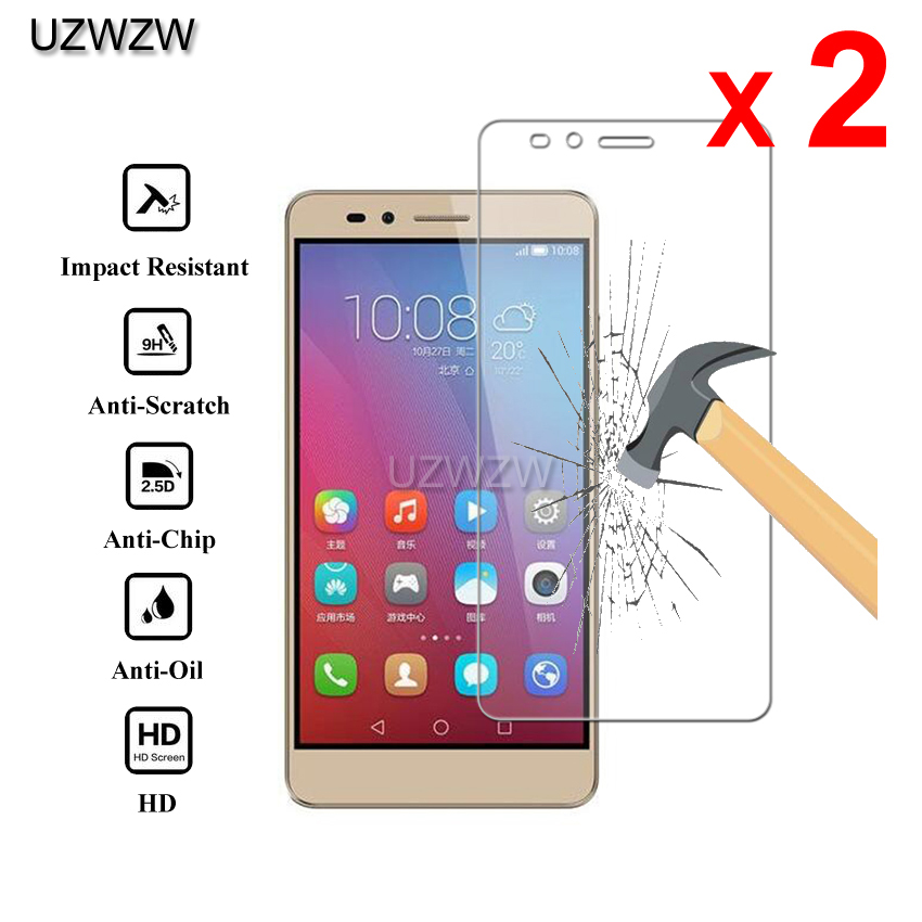 2pcs For Huawei Honor 5X Glass Premium 2.5D Tempered Glass Screen Protector For Huawei Honor 5X Protective Glass