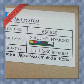 IDP 650640 SIADC-P-HYMCKO Medio Panel Cinta De Color YMCKO Para Inteligente Pritners