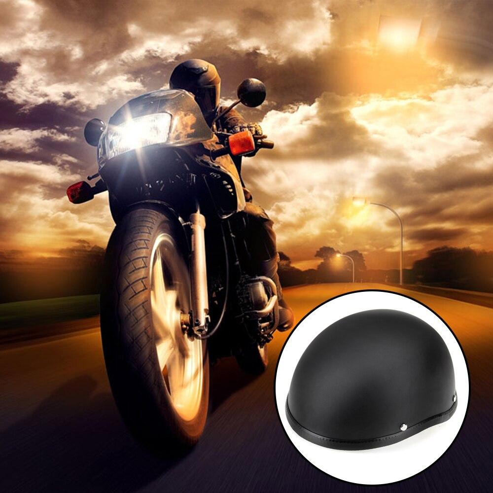 CARCHET Cascos de motocicleta Medio casco 54-60 cm Unisex Casco de - Accesorios y repuestos para motocicletas - foto 2