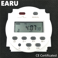 CN101A Timer Switch AC DC 12V 24V 110V 120V 220V 230V 240V Digital LCD Power Week