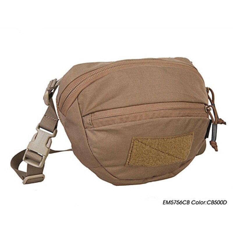 Sacs de chasse EM nouveau sac de messager Airsoft Style Maka 500D Nylon pour Airsoftsports sac tactique de Combat Paintball noir