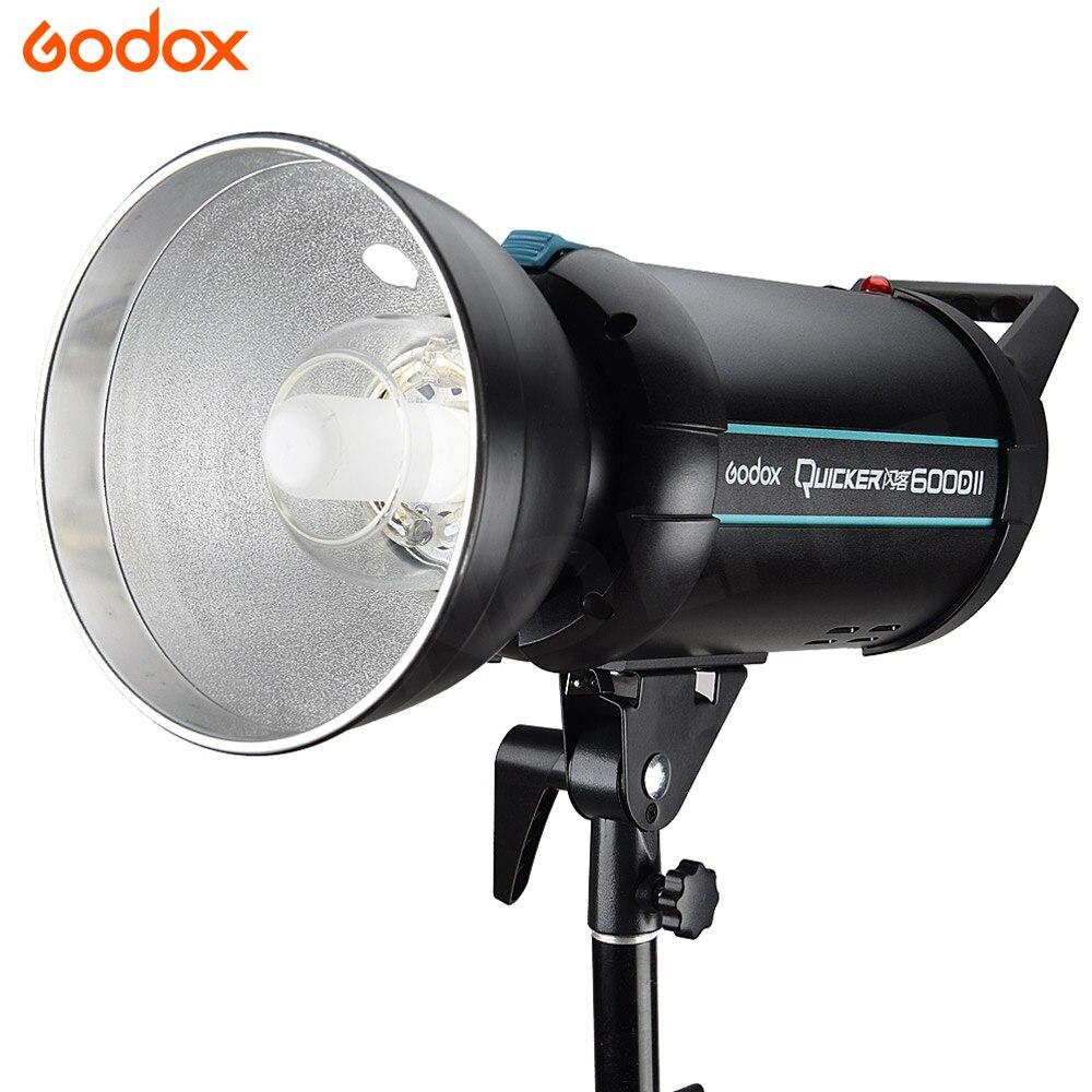 Godox Mais Rápido 600DII 600 w Alta-velocidade do Flash Speedlite Estúdio Strobe Fotografia GN76 Embutido 2.4 X Sistema para Todos Os câmeras