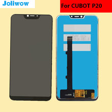 6.18 inch CUBOT P20 LCD Display Touch Screen 100% Tested Digitizer Assembly Replacement Accessories 5 pcs lcd display with touch screen digitizer assembly 100% tested lcd screen glass panel for cubot note s free shipping