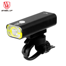 WHEEL UP Bike Front Light USB Charging Handlebar headlight Torch Cycling Flashlight Bicycle Led Lights Accessories 2017 bike handlebar grips light bike led wheel spoke bicycle lights cycling lamp of grip the deputy horns warning lights