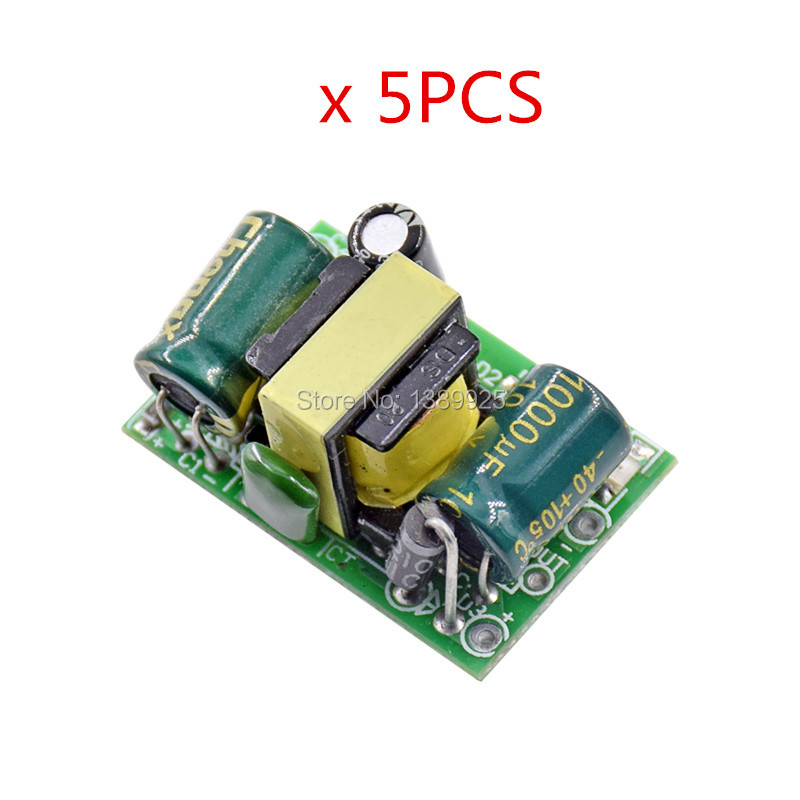 5pcs/lot 5V 700mA (3.5W) Isolated Switch Power Supply Module AC-DC Buck Step-down Module 220V Turn 5V