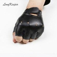 Gloves Mittens Gants Half-Finger Girls Black Breathable Kids Chilidren for Boy High-Qualtiy