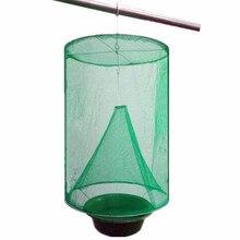 בית חצר אספקת קיץ יתושים מלכודת חרקים באג רוצח 1PC לשימוש חוזר נייד רוצח זבובי Flytrap Zapper נטו כלוב פשט שליטה