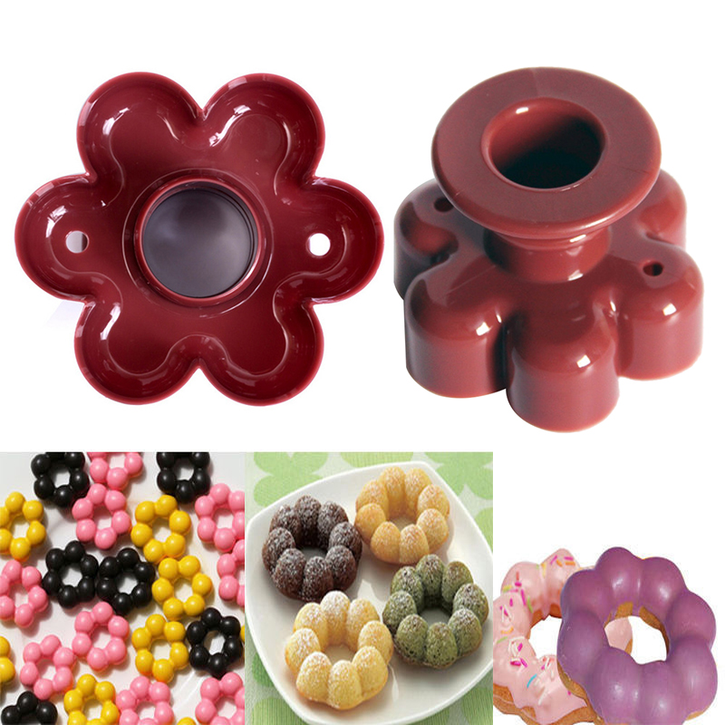 Donut Mold Dessert Tool DIY Donut Tool Desserts Sweet Food Bakery Baking Cake Mould Fondant Mold Easy To Clean