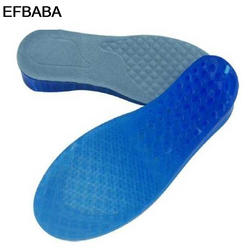 EFBABA Height Increase Insole Honeycomb Gel Pads Sweat Breathable Damping Sports Insoles Men Women Shoes Pad Increased 2-5cm