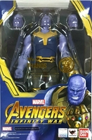 WSTXBD Original BANDAI S.H.Figuarts Avengers 3 SHF thanos Infinity War Action Figure Brinquedos Dolls Toys Figurals