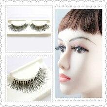 False Eyelashes natural long eye lash 100% hand made fake new eyelash extensions wholesales (32 pairs/lot) 204612 Free shipping