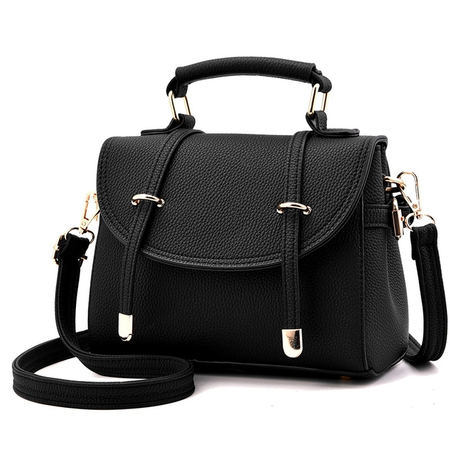 662eab8d597 Leather Ladies Hand Bags Women Shoulder Bag Pillow Hign Quality New retro  British style sub-