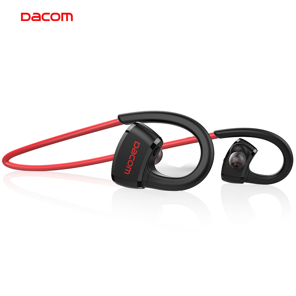 Dacom Stereo Sport Wireless Bluetooth Earphone Headphone IPX7 Waterproof Cordless MP3 Music Player Ear Headset with 512M Memory high quality bathroom accessories stainless steel black finish towel ring holder